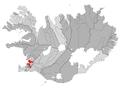 Reykjavikurborg map.png