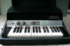Keyboard bass - Rhodes Piano Bass (1960)