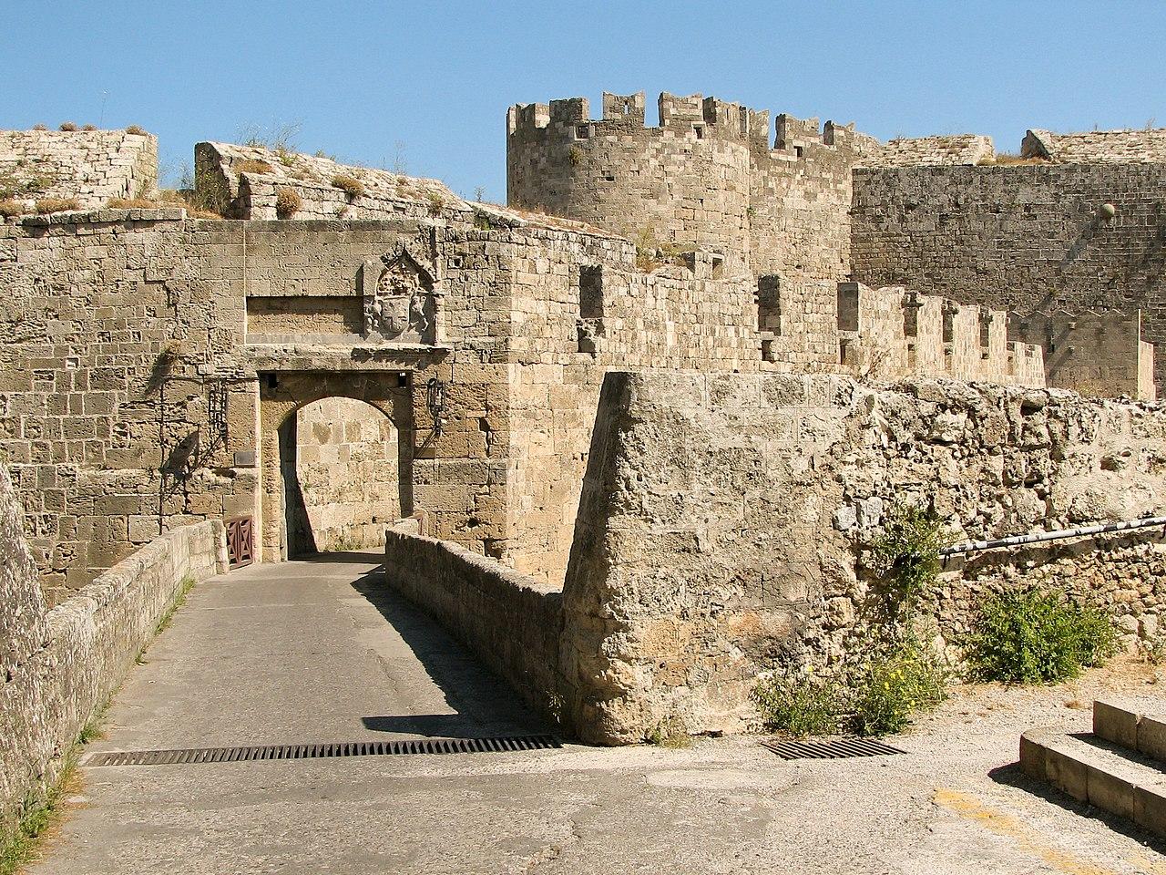 islas griegas - rodas isla medieval