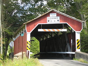 Richards Covered Bridge - Richards Covered Bridge, September 2012