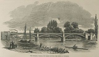 grade II listed steel bridge in London Borough of Richmond upon Thames, United kingdom