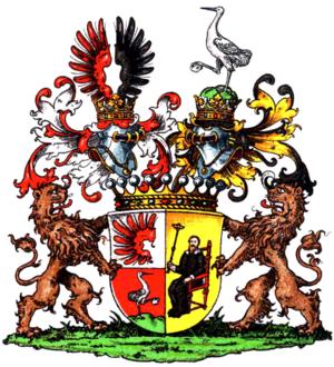 Manfred von Richthofen (general) - von Richthofen coat of arms