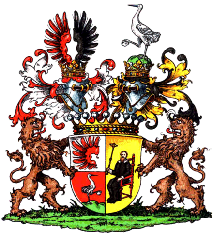 Richthofen family coat of arms Richthofen-Wappen.png