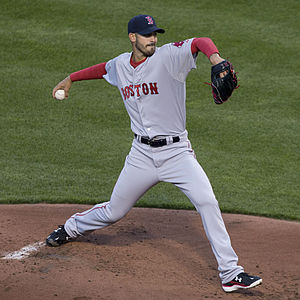 Rick Porcello - Porcello with the Boston Red Sox in 2015
