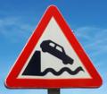 Rinlo (RPS 24-07-2020) Muelle, señal de tráfico de peligro.png