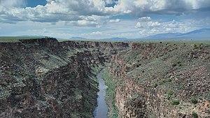 Rio Grande Gorge - Image: Rio Grande Gorge 2