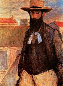 Йожеф Риппл-Ронай, Портрет Аристида Майоля, 1899 год