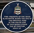 River Blakewater plaque - geograph.org.uk - 424771.jpg