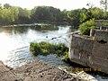 River Horyn dike village Polian 1.jpg