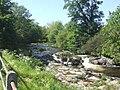 River Rhiw upstream of Berriew - geograph.org.uk - 1324976.jpg