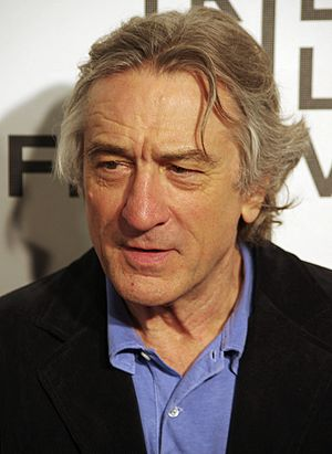 Robert De Niro - De Niro in April 2011 at Tribeca Film Festival