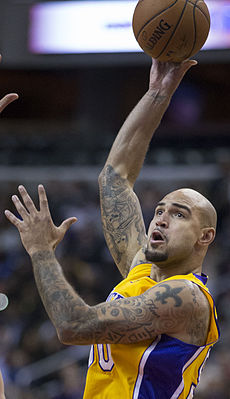 Robert Sacre vs Washington (cropped).jpg