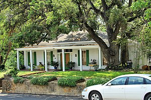 National Register of Historic Places listings in Guadalupe County, Texas - Image: Robert hall house 2013