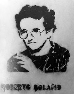Roberto Bolaño Chilean author