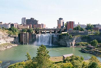 Rochester NY High Falls 2001