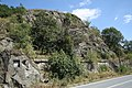Rock near Vladislav, Třebíč District.jpg