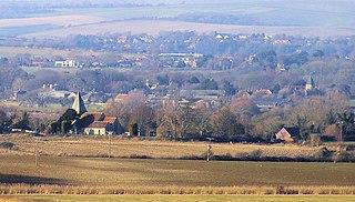 Rodmell village in United Kingdom