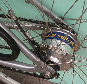Bicycle gearing - A Rohloff Speedhub hub gear