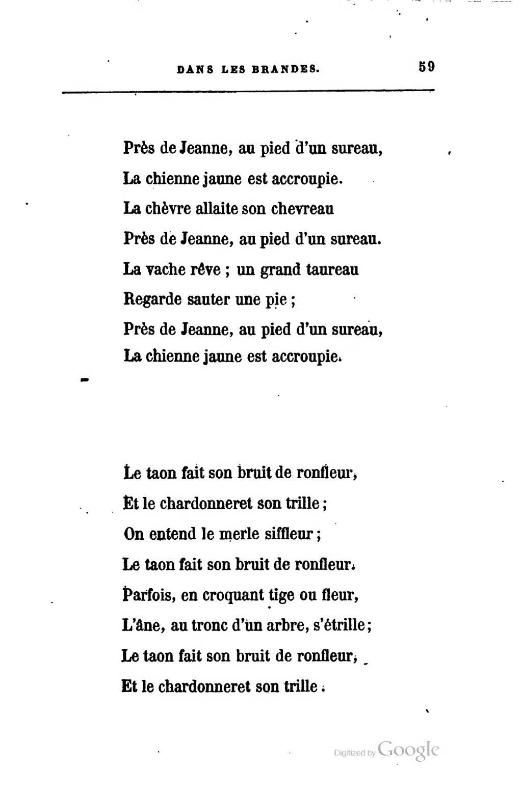 Page rollinat dans les brandes charpentier 1883 djvu - Bruit de la pie ...