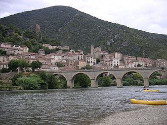 Orb (river) - Image: Roquebrun vue orb