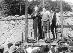 Rory O'More (1911 film) - From left to right: Arthur Donaldson and Jack J. Clark.