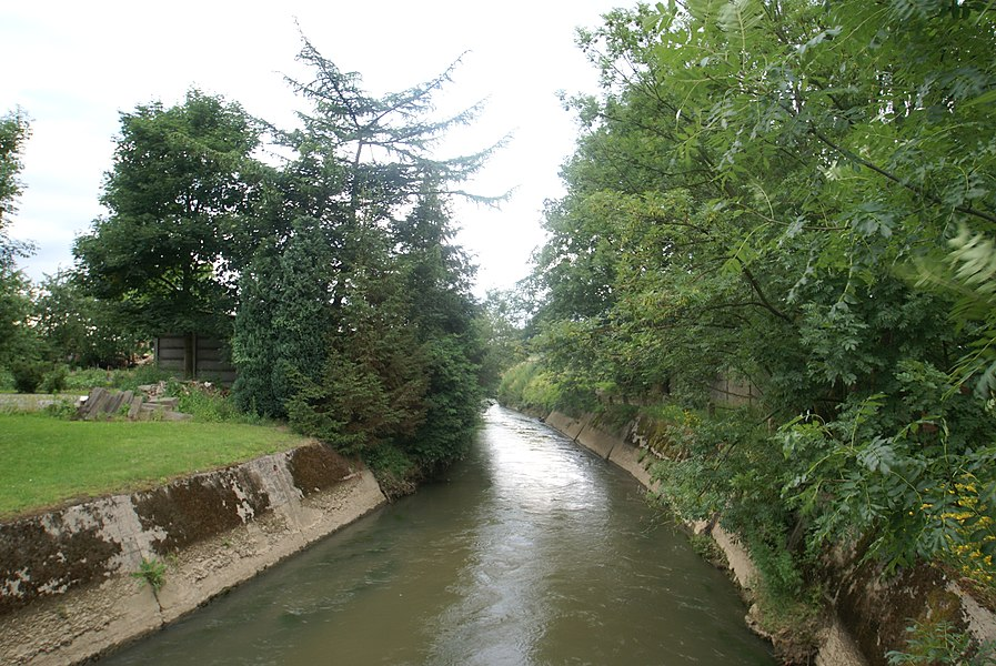 Rotselaar (Belgium): The Winge River