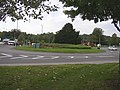Roundabout at Gravel Hill- Selsdon Pk Rd- Kent Gateway junction - geograph.org.uk - 962294.jpg