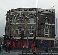 The Royal Vauxhall Tavern a well-known gay venue