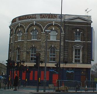 Vauxhall - The Royal Vauxhall Tavern, a well-known gay venue