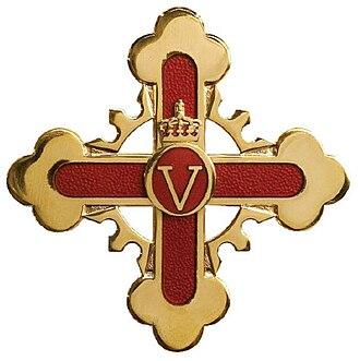 Royal Norwegian Order of Merit - Image: Royal Norwegian Order of Merit cross