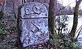 Royal the Otterhound Memorial, River Annan, Hoddom Castle, Dumfries and Galloway. 1899 date.jpg
