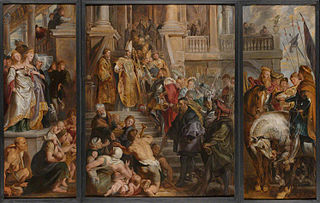 Oil Sketch for High Altarpiece, St Bavo, Ghent