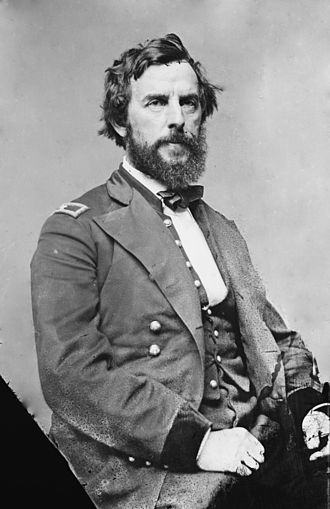 Iron Brigade - Rufus King, the founder and original commander of the Wisconsin Iron Brigade