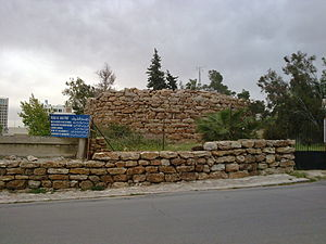 Ammon - An Ammonite watch tower at Rujm Al-Malfouf in Amman
