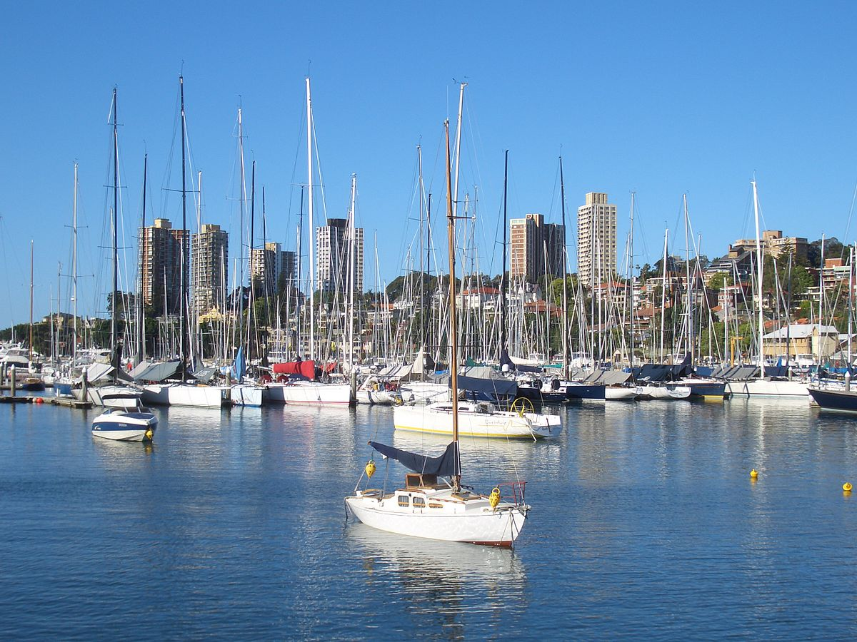 Rushcutters Bay, New South Wales - Wikipedia