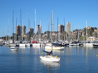 Rushcutters Bay, New South Wales Suburb of Sydney, New South Wales, Australia