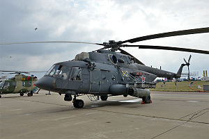 2006 Vladikavkaz Mi-8 crash - A Russian Mil-Mi-8 similar to the aircraft involved in the incident.