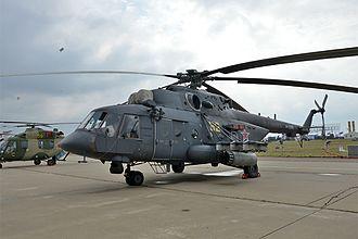 2006 Vladikavkaz Mi-8 crash - A Russian Mil-Mi-8 similar to the aircraft involved in the incident.