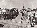 Russischer Photograph um 1880-1890 - Blick in die Novaja Basmannaja Straße, Moskau (Zeno Fotografie).jpg
