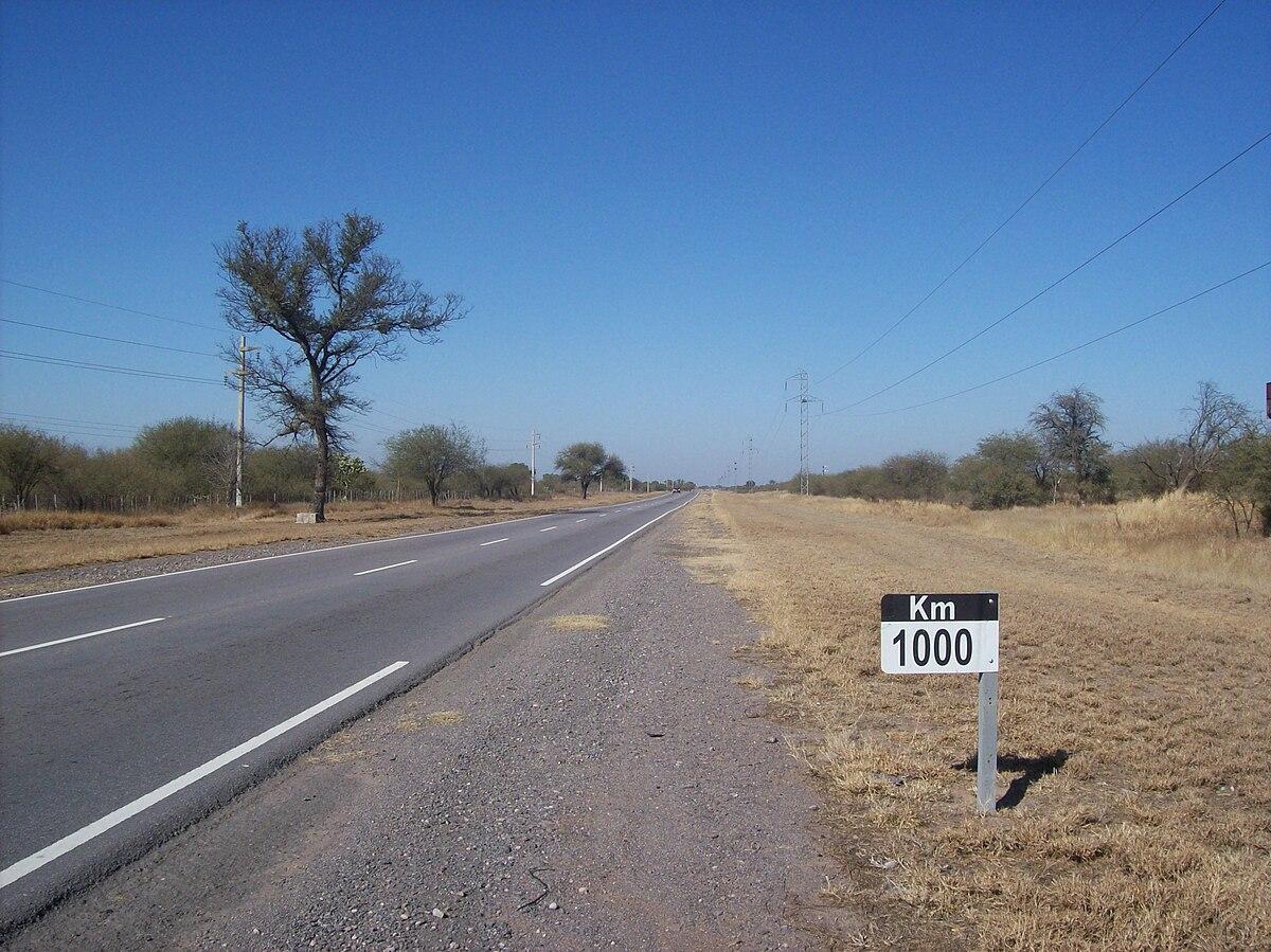 Ruta Nacional 157 Argentina Wikipedia La Enciclopedia