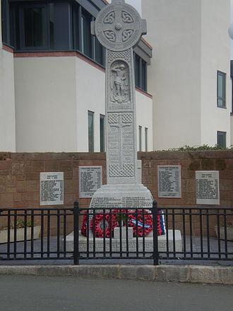Ruthin - The town War Memorial