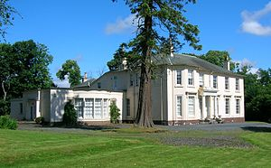 Drakemyre, North Ayrshire - Ryefield House.