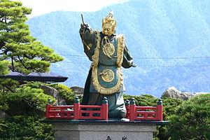 Gao Changgong - Prince of Lanling at Itsukushima Shrine