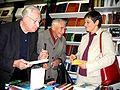 Ryszard Matuszewski Andrzej Wajda Barbara Torunczyk Fot. Mariusz Kubik Warsaw October 16 2007.JPG
