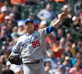 Hyun-jin Ryu Korean baseball player