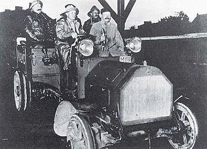 Sven Gustaf Wingqvist - Image: SCANIA test SKF lager 1909 150dpi