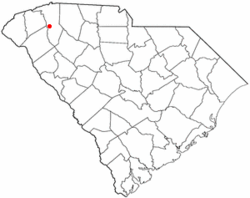 Location of Dunean, South Carolina