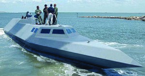 Semi-submersible naval vessel - Naval Special Warfare Command SEALION II