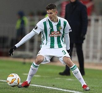 Mert Müldür - Müldür with Rapid Wien in 2018