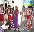 SNK Playmore promotional models at Tokyo Game Show 20070921 3.jpg